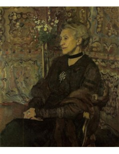Tytuł: Portret Celiny Sarowej, Autor: Józef Mehoffer