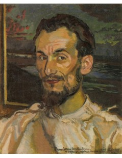 Tytuł: Portret Jana Hoplińskiego, Autor: Józef Mehoffer