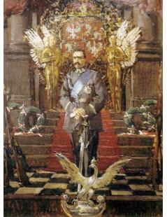 Tytuł: Portret marszałka Józefa Piłsudskiego, Autor: Józef Mehoffer