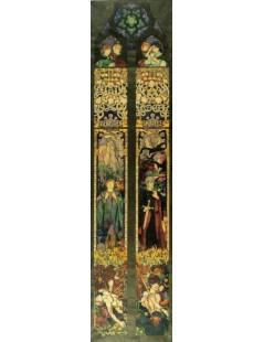 Tytuł: Święty Sebastian i święty Maurycy, Autor: Józef Mehoffer