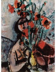 Tytuł: Dziewczyna z makami, Autor: Zygmunt Menkes
