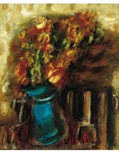 Tytuł: Kwiaty w wazonie, Autor: Zygmunt Menkes