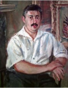 Tytuł: Portret Ericha Cohna, Autor: Zygmunt Menkes