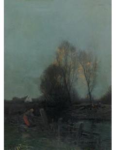 Tytuł: Wieczór, Autor: Roman Kochanowski