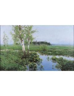 Tytuł: Wiosna, Autor: Wiktor Korecki