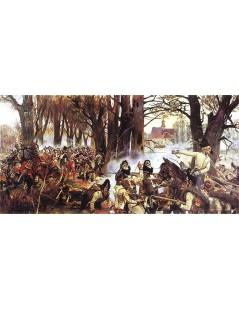 Tytuł: Bitwa pod Raszynem, Autor: Wojciech Kossak