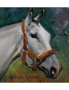 Tytuł: Koń, Autor: Wojciech Kossak