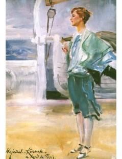 Tytuł: Portret pani U., Autor: Wojciech Kossak