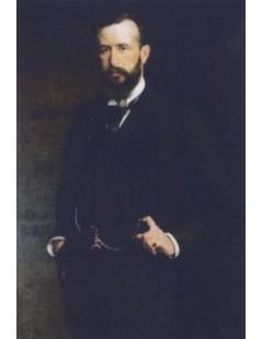 Tytuł: Portret Teodora Herzl a, Autor: Kazimierz Pochwalski