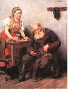 Tytuł: W karczmie, Autor: Kazimierz Pochwalski