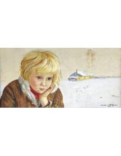 Tytuł: Zima, Autor: Vlastimil Hofman