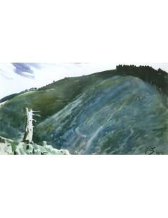 Tytuł: W górach, Autor: Julian Fałat