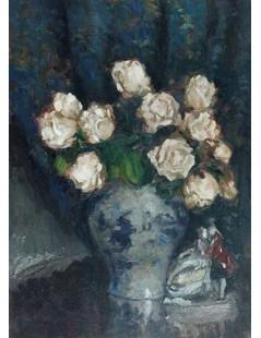 Tytuł: Róże w wazonie, Autor: Stefan Filipkiewicz