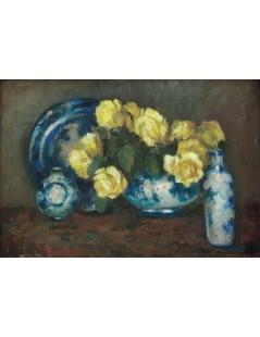 Tytuł: Róże, Autor: Stefan Filipkiewicz