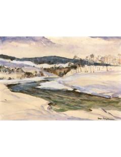 Rzeka wśród śniegów