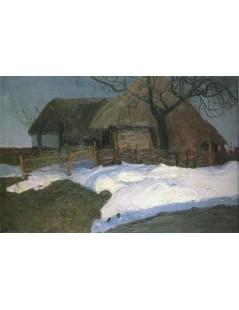 Tytuł: Topniejące śniegi, Autor: Stefan Filipkiewicz