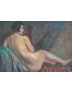 Tytuł: Akt kobiecy, Autor: Mieczysław  Filipkiewicz