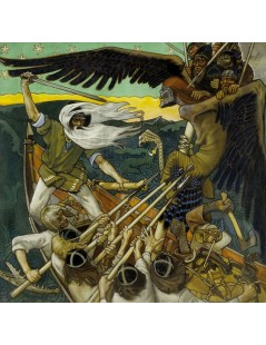 Tytuł: The Defense of the Sampo, Autor: Akseli Gallen-Kallela