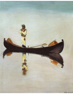 Tytuł: The Fisherman, Autor: Akseli Gallen-Kallela