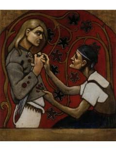 Tytuł: The Fratricide, Autor: Akseli Gallen-Kallela