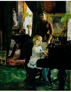 Tytuł: The Neovius Family, Autor: Akseli Gallen-Kallela