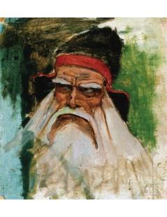 Tytuł: The Wizard VÄ?¤inÄ?¤mÄ?śinen, Autor: Akseli Gallen-Kallela