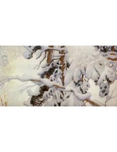 Tytuł: Winter, Autor: Akseli Gallen-Kallela