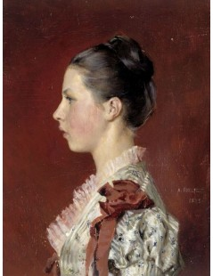 Tytuł: Annie Edelfelt. The Painters Youngest Siste, Autor: Albert Edelfelt