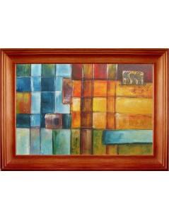 Tytuł: Mozaika I, Autor: Emilia Czupryńska