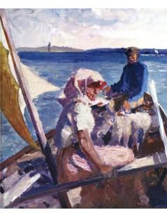 Tytuł: In the Sea, Autor: Albert Edelfelt