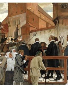 Tytuł: Inauguration of the Turku Academy. Part 1, Autor: Albert Edelfelt