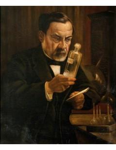 Tytuł: Louis Pasteur, Autor: Albert Edelfelt
