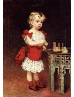 Tytuł: Portrait of Grand Duke Andrei Vladimirovich as a Child, Autor: Albert Edelfelt