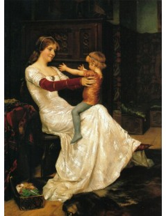 Tytuł: Queen Blanka, Autor: Albert Edelfelt