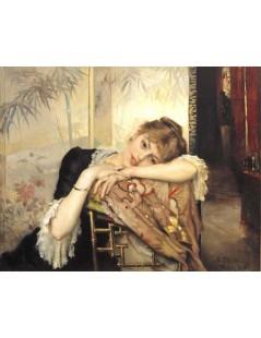 Tytuł: Virginie, Autor: Albert Edelfelt