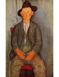 Tytuł: The Little Peasant, Autor: Amadeo Modigliani