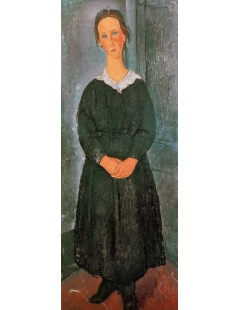 Tytuł: The Servant Girl, Autor: Amadeo Modigliani