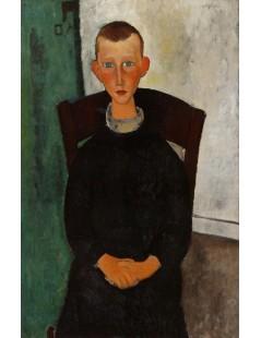 Tytuł: The Son of the Concierge, Autor: Amadeo Modigliani