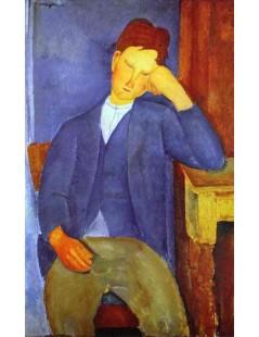 Tytuł: The Young Apprentice, Autor: Amadeo Modigliani