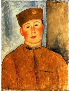 Tytuł: The Zouave, Autor: Amadeo Modigliani