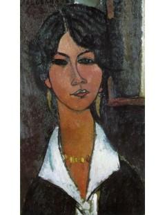 Tytuł: Woman of Algiers, Autor: Amadeo Modigliani
