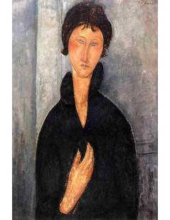 Tytuł: Woman with Blue Eyes, Autor: Amadeo Modigliani