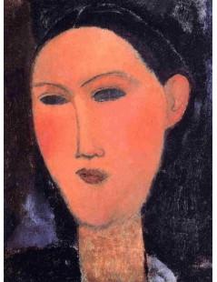 Tytuł: Womans Head, Autor: Amadeo Modigliani