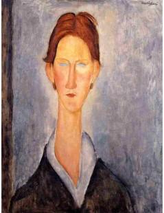 Tytuł: Young Man, Autor: Amadeo Modigliani