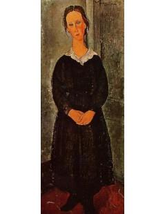 Tytuł: Young Servant Girl, Autor: Amadeo Modigliani