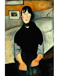 Tytuł: Young Woman of the People, Autor: Amadeo Modigliani