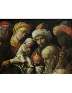 Tytuł: Adoration of the Magi, Autor: Andrea Mantegna