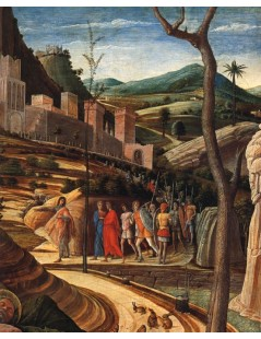 Tytuł: Agony in the Garden, Autor: Andrea Mantegna