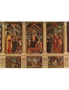 Tytuł: Altarpiece, Autor: Andrea Mantegna