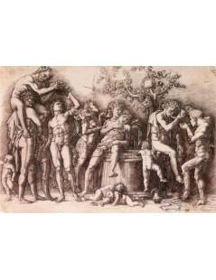 Tytuł: Baccanale col tino, Autor: Andrea Mantegna